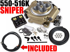 HOLLEY 550-516K SNIPER GAS EFI SELF-TUNING MASTER KIT CLASSIC WITH 558-443 USB
