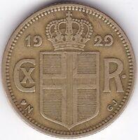 1929 Iceland Krona | Pennies2Pounds
