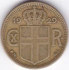 1929 Iceland Krona***Collectors***