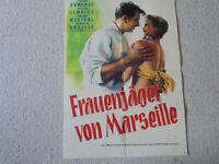 Viviane Romance, Frauenjäher von Marseille - Original Filmplakat A1