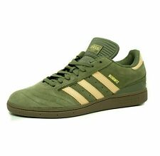 adidas Originals Busenitz Shoes Khaki Leather Trainers Size UK 10.5