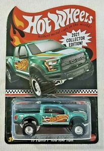 HOT WHEELS 2021 COLLECTOR EDITION '17 FORD F-150 RAPTOR MAIL-IN Dollar General