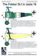 Blue Rider Decals 1/48 FOKKER Dr-I JASTA 19