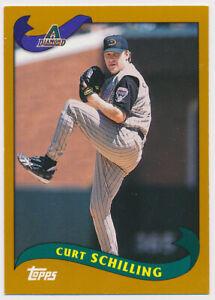 2003 Curt Schilling Topps Kanebo Japanese Baseball Card #21 Arizona Diamondbacks