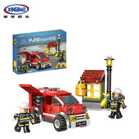 Xingbao Bausteine Rot Feuerwehrauto Modell Toys Gifts Spielzeug Baukästen 218PCS