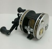 ABU Garcia Ambassadeur 4600-C3 Silver 'The Original' Fishing Reel, Ergo Grip