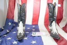 Stiefel Buffalo cod. ST1774 gebraucht n.40 Frau Haut schwarze biker Country