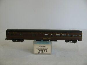 Atlas Rivarossi Lighted Pennsylvania 85' Pullman Observation Passenger Car #2654