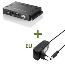 EU USB 3.0 zu SATA IDE ATA Datenadapter 3 in 1 for PC Laptop Disk Driver + Power