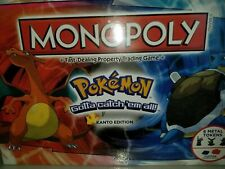 Pokemon Monopoly Kanto Edition - Hasbro Board Game - Brand New Factory Sealed