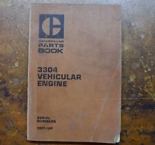 Caterpillar 3304 Vehicular Engine Parts Book *Free Shipping* Form UEG0797S