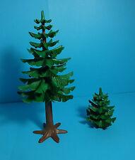 Playmobil Country ~ Großer & kleiner Tannenbaum / Large & Small Pine Tree (7134)