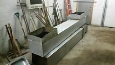 16' Stainless Steel Commercial Hood