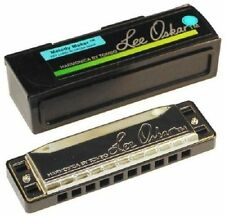 "NEW LEE OSKAR 1910MM MELODY MAKER HARMONICA HARP ""E"" NEW IN CASE SALE PRICE"