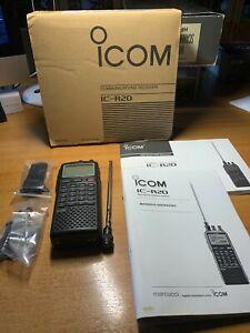 ICOM IC-R20 Ricevitore larga banda all mode da 100kHz a 3.3GHz, con registratore
