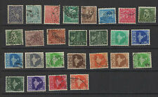 1940-50 INDE ANGLAISE 24 timbres anciens / T1478