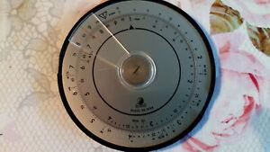 Rechenscheibe alte Rechenscheibe Norma Ronda100 DGBM.