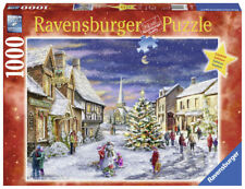 Christmas Village Holiday Puzzle 1000 pieces Limited Edition Ravensburger 19883