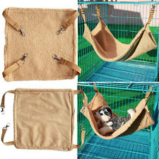 Hammock for Pet Hamster Rat Parrot Ferret Hamster Hanging Bed Cushion House Cage