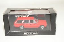 . MINICHAMPS FORD TAUNUS P5 TURNIER STATION RED MINT BOXED