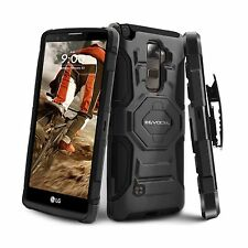 Evocel LG G Stylo 2 [New Generation] Rugged Holster Dual Layer Case [Kickstan...