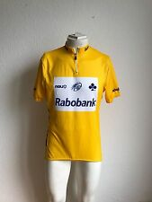 Team rabobank amarillo rueda-camiseta agu talla L uci pro tour Cycling-Jersey Yellow