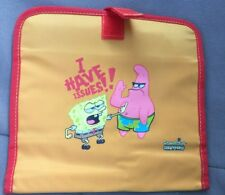 Nickelodeon Sponge Bob Squarepants Velcro Pouch With Mirror