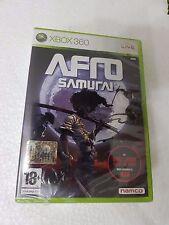 XBOX 360 AFRO SAMURAI - NAMCO - - XBOX360 MICROSOFT SEALED