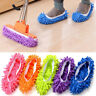 DURABLE MICROFIBRE SHOE SOCK SLIPPERS MOP DUST REMOVER CLEANING FLOOR POLISHERS