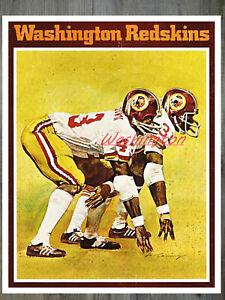 NFL Vintage Washington Redskins ART Reprint Color 8 X 10 Photo  Picture