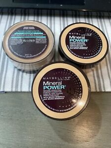 Maybelline New York Mineral Power Powder Foundation 925 Creamy Natural- 3 Pack