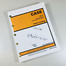 CASE 580CK 580 CK SERIES B TRACTOR SHUTTLE TRANSMISSION PARTS MANUAL CATALOG