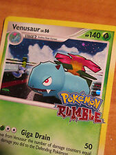 NM Pokemon VENUSAUR Card RUMBLE Promo 1/16 Game Stamped Box Set Holo Rare TCG
