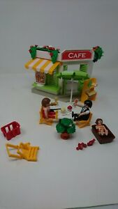 Kid's Playmobil Harbour Cafe Figures & Accessories Toys 5129