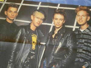 Depeche Mode – Poster aus Bravo / Die Toten Hosen