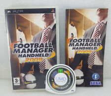 FOOTBALL MANAGER HANDHELD 2009 COMPLETE PSP *FREE UK SHIPPING