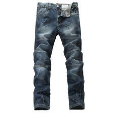 FOX JEANS Men's Dennis Regular Fit Straight Blue Denim Jeans SIZE 42