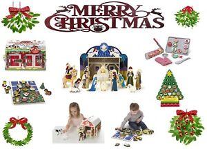 XMAS Kids Children Role Play Toys - Christmas Holidays Sets - Melissa & Doug