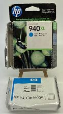 HP Genuine 940XL Cyan Ink Cartridge C4907A Expired New Open Box