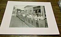 ROCKY GLEN PARK - CHILDREN RIDE  - SCRANTON PA - 8 X 10 PREMIUM MATTED PRINT #2