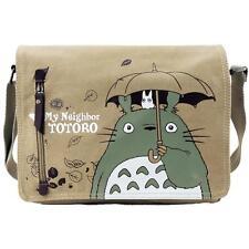 Anime My Neighbor Totoro Cute Canvas Messenger Bag Shoulder Sling Bag Satchel