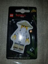 sensei wu Lego ninjago eraser ninjago movie Warner bros.