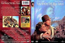 For Whom the Bell Tolls ~ New DVD ~ Gary Cooper, Ingrid Bergman (1943)
