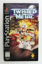Twisted Metal Long Box Instruction Manual ONLY (Sony PlayStation, PS1)