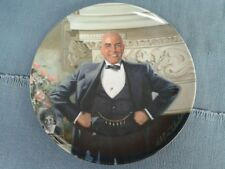 """Knowles China Plate, """"Daddy Warbucks"""""""