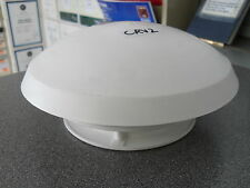 White plastic circular mushroom roof vent for caravan or motorhome CRV2