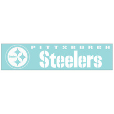 "PITTSBURG STEELERS 16"" x 3.2"" Vinyl Decal / Sticker nfl"