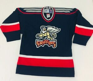 CCM Grand Rapids Griffins Youth Hockey Jersey Blue SZ L/XL