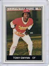 TONY GWYNN RC 1982 TMCA HAWAII ISLANDERS #10 MINOR LEAGUE PHOTO FACT CARD ROOKIE