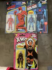 ?IN HAND STORM, Daredevil, And Ironman Marvel Legends Kenner Action Figures